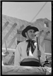 Master of Ceromonies at Taos Fiestas 1940