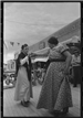 Two women dancing at Taos Fiestas 1940