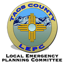 Taos County Local Emergency Planning Committee badge