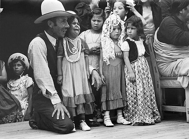 Spanish American People at Taos Fiestas 1940