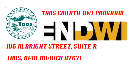 Taos County DWI Program Badge